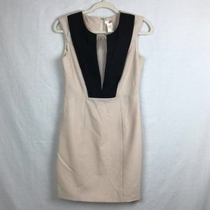 Esley tan business casual dress